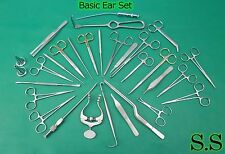 Ear Set of 41 Instruments Surgical ENT Medical Surgery Instruments