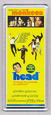 THE MONKEES 'HEAD' movie poster LARGE WIDE FRIDGE MAGNET -RETRO CLASSIC - COOL!
