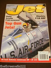 RC JET INTERNATIONAL - ELECTRIC F18 ARF - AUG 2002