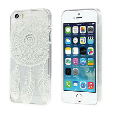 Dream Catcher Pattern Transparent Hard Case Cover for iPhone 5 SE 5S Stylish