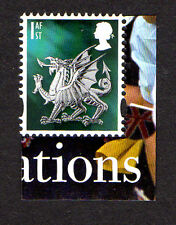 """2016 sg W122 1st nvi wales dragon litho isp ex """"queen's 90th anniversaire"""" psb DY17"""