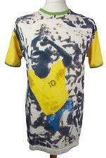 Ben Sherman Brazil No 10 Pele Football Short Sleeve T Shirt (L)