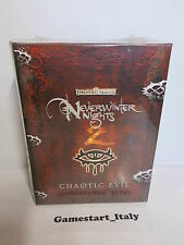 NEVERWINTER NIGHTS 2 CHAOTIC EVIL COLLECTOR'S EDITION - PC - NUOVO NEW ITA