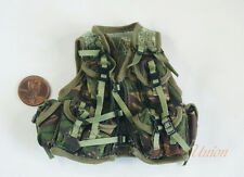 1/6 Figur US Marine Nato Woodland Camo Tactical Vest Jacket Uniform DA287