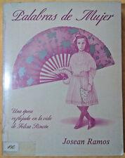Palabras de Mujer  por Josean Ramos Felisa Rincon de Gautier Puerto Rico 1988