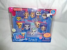 LITTLEST PET SHOP 5 WELCOME PETS FROM LPSO BUNNY PENGUIN PANDA CAT DOG 2009 NEW
