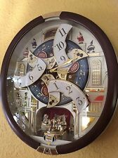 Seiko 24 Melodies in Motion Musical Wall Clock With Swarovski Element