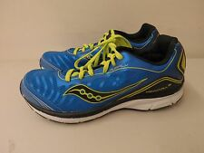 Saucony Boys Youth Kinvara 3 Running Shoes Blue/yellow Sz 11.5W (9605)