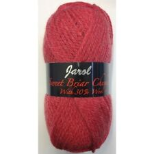 Jarol Sweet Briar Chunky Knitting Yarn 100g Acrylic/Wool - 20 Strawberry