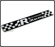 R Badge Emblem Decal Sticker VW R20 R32 R36 GTI TSI R Line GTD Rear Boot Wing 62