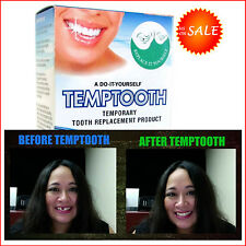 DIY Temporary Tooth Replacement Oral Cosmetic Dentistry Temp Teeth Yourself Kit