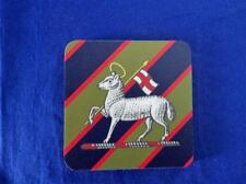 QUEEN'S ROYAL WEST SURREY REGIMENT LARGE COASTER