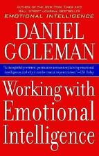 Working with Emotional Intelligence by Daniel Goleman (2000, Paperback)