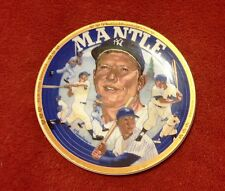 "MICKEY MANTLE ""LIVING LEGEND"" COLLECTOR PLATE 1993"