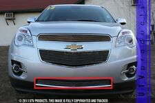 GTG, 2010 - 2015 CHEVY EQUINOX 1pc CHROME BUMPER BILLET GRILLE KIT