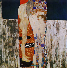 Oil painting Gustav Klimt - The Three Ages of Woman Hand painted canvas