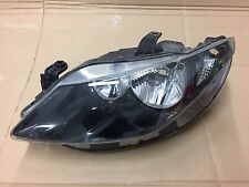 SEAT IBIZA 6J CUPRA BOCANEGRA 08-12 LEFT PASSENGER SIDE HEADLIGHT BLACK 6J294103