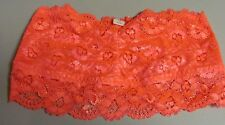 LA SENZA CORAL LACED BANDEAU BRALETTE SIZE SMALL NEW WITH TAGS