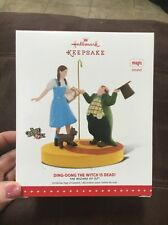 Hallmark Ornament 2015 Wizard of Oz - Ding Dong The Witch is Dead - Magic Sound