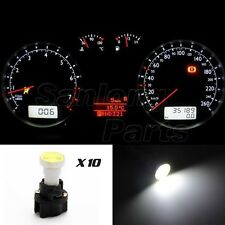 For Toyota Instrument Dash light COB LED Light Bulbs With PC74 T5 Sockets White
