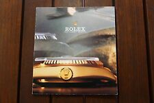 VINTAGE 1984 ROLEX ISSUED BROCHURE CATALOGUE