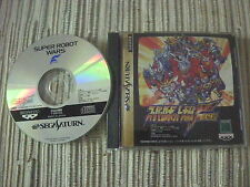 SEGA SATURN SUPER ROBOT WARS F FINAL NTSC JAPONÉS USADO EN BUEN ESTADO