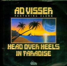 "7"" Ad Visser Feat. Elena/Head Over Heels In Paradise (D)"