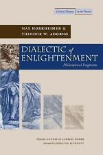 Cultural Memory in the Present: Dialectic of Enlightenment by Theodor W. Adorno