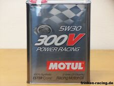 12,85 €/L Motul 300v 5w-30 power racing 2 LTR