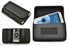 Heavy Duty Horizontal Pouch Holster Case For SAMSUNG GALAXY S4 S5 S6 S7