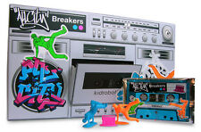 "KIDROBOT ALL CITY BREAKERS BOOM BOX 50 PACKS 2""FIGURES BREAK DANCERS BLIND BAG"