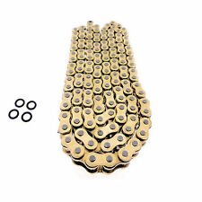 HONDA XR650R XR650L 1993-2009 1997 1998 1999 GOLD O-RING DRIVE CHAIN 520-110