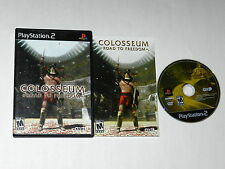 COLOSSEUM ROAD TO FREEDOM Playstation 2 PS2 Game COMPLETE CIB TESTED