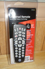 GE Universal Remote 4Device TV VCR Cable DVD DTV Digital Converter Box Remote