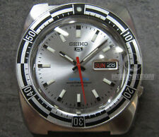 SEIKO Sports 5 SBSS013 100m SILVER Rally diver watch 70's re-issues NEW 1997