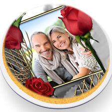 Tortenaufleger Foto Torte Tortenbild Fototorte  20 cm Ø Hochzeit