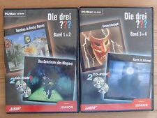 Die Drei ??? Fragezeichen PC Spiele PC Sammlung  kpl. Deutsch