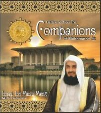 Getting To Know The Companions Of Muhammad(PBUH) MP3 AUDIO 3 CD Set Mufti Menk