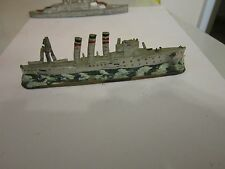Antique 1900 Toy Ship S.M.S EMDEN German Navy WWII Slush Mold Lead Mold Toy Ship