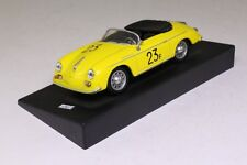 DeAgostini; 1955 Porsche 356A Carrera Speedster 1500GS; Yellow Excellent Boxed