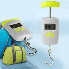 Portable Electronic LCD Hanging Luggage Digital Weight Scale Pocket Weigher 50Kg