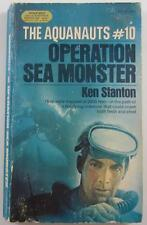 AQUANAUTS #10 OPERATION SEA MONSTER KEN STANTON 1974 MANOR #95309 1ST ED PB