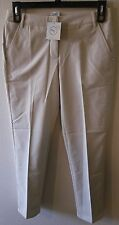 NWT Puma Tech Solid Womens Golf Pants 2 Oatmeal MSRP$80