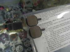 GENUINE HAYES MX2,MX3,MX4,MX5 AND SOLE ORGANIC COMPOUND BICYCLE DISC BRAKE PADS