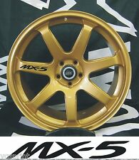 MX-5  6x ALLOY WHEEL DECAL STICKERS GRAPHICES CHOICE OF COLOURS FAST DISPATCH