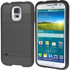 Pelican ProGear Voyager Hard Case Cover for Samsung Galaxy S5 + Holster - Black