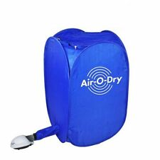 Brand New Air-O-Dry mini Portable Electric Clothes Dryer Bag Blue 110v/220v