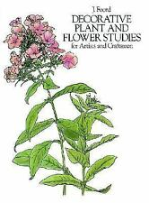 Decorative Plant and Flower Studies for Artists and Craftsmen (Dover P-ExLibrary
