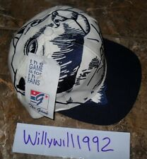 NWT VTG 90s Penn State Nittany Lions The Game Big Logo Snapback Cap Hat Script