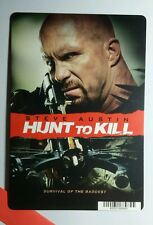 HUNT TO KILL STEVE AUSTIN COVER ART MINI POSTER BACKER CARD (NOT a movie )